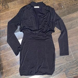 LUSH Black mini dress, size M